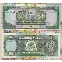 Распродажа коллекции. Гаити. 50 гурдов 2003 года (P-267b - 2000-2015 Issue)