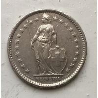 Швейцария, 2 франка 1974