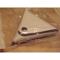 Монетница треугольная двусторонняя.