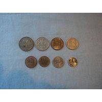 Монеты,1992г,1993г,