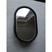 Наружное зеркало заднего вида овальное для автомобилей ГАЗ-52-02, 53А, 5312, 66. СССР, вторая половина прошлого века.