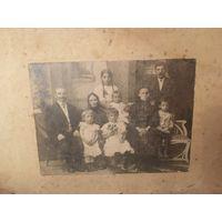 Большая семейная фотография начало 20 века