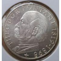 ФРГ 5 марок Фонтане 1969