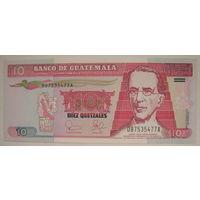 Гватемала10 кетсаль 2003 г. (g)