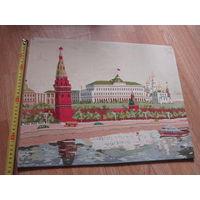 Вышивка старинная . Кремль