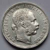 Австро- Венгрия 1 флорин 1887 (серебро)