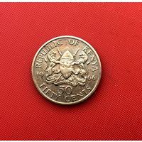 57-07 Кения, 50 центов 1966 г.