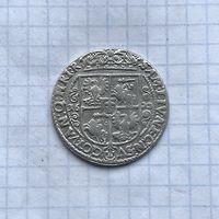 Монета Орт Коронный 1/4 талера 1622 г. Сигизмунд lll РЕДКИЙ Идеальный