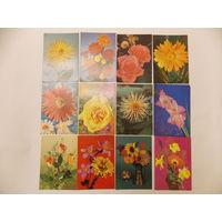 Открытки СССР с цветами, открытки с розами