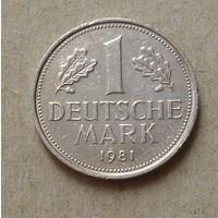 1 марка 1981 года ( G ).