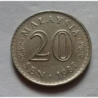 20 сен, Малайзия 1987 г.