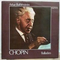 Artur Rubinstein - Balladen. Chopin / Шопен