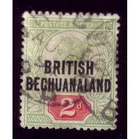 1 марка 1891 год Британский Бечуаналенд Mi 41, Gibb 34
