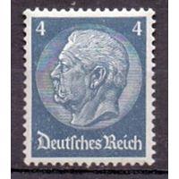 Германия Стандарт Гинденбург 4 pf (*) 1934 г