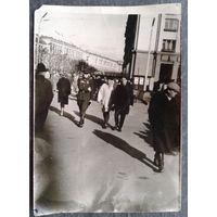 Фото. Минск. На площади Якуба Коласа.1960-е. 13х18 см.