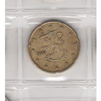 20 евроцентов 2002 г. Возможен обмен