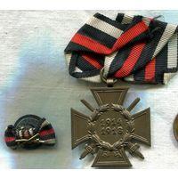 Крест Гинденбуга с мечами. ПМВ. + БОНУС!!!  ---  СТАРТ 1 руб!!!