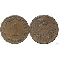YS: Германия, Рейх, 1 пфенниг 1904A, KM# 10 (1)