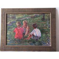 Малишевский А.А. Картина Три мальчика.