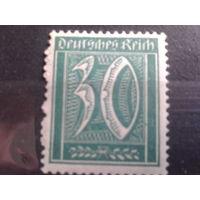 Германия 1921 Стандарт 30пф ВЗ1