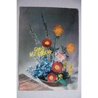 Цветы; 1965, подписана (ГДР).