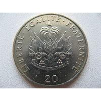 Гаити 20 сантимов 1991 г.