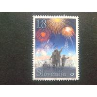 Словения 1999 Рождество