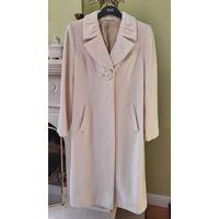 Пальто женское, шерсть и кашемир, р-р 46 (евро 38-40), демисезонное. Нарядное