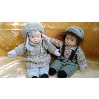 Куклы фарфоровые с веснушками, куклы мягконабивные, винтажные куклы