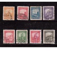 Колумбия-1941-1948  (Мих.424) ,  гаш , 8 марок, Архитектура, памятники
