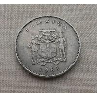 Ямайка, 10 центов 1981 г.