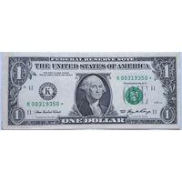США 1 доллар 2006 `K` *