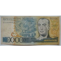 Бразилия 100000 крузейро