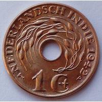 Голландская Ост-Индия 1 цент, 1942 (Р)