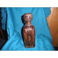 Бутылка стеклянная.Дон Кихот и Санчо Панчо