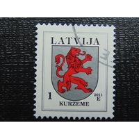 Латвия 2011г. Герб.