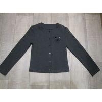 Девичий пиджак для школы на рост 122-128 см