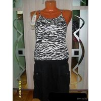 Платье зебра 42-44