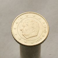 Бельгия 50 евроцентов 1999 (1-й тип)