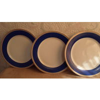 Набор тарелок кобальт