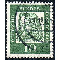 116: Германия (Западный Берлин), почтовая марка, 1961 год