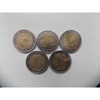 Монеты евро 5