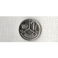 1 франк 1989 года Бельгии