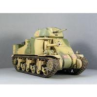 Модель танка M3A5 Grant II