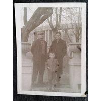 Фото. Минск. В районе Академии наук. 1960-е. 9х12 см