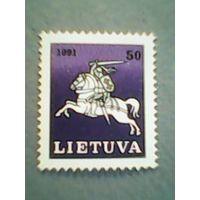 Литва. Рейтар. 1991г. ;чистая