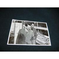 Открытка-вкладыш  А. Гитлер и Р. Гесс , III рейх, оригинал. ТОРГИ! С 1 РУБЛЯ!