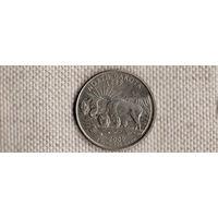 США 25 центов 2006/Северная Дакота/зубры(Ab)