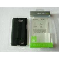 1718 Чехол для Samsung R(Z) пластик, чёрный