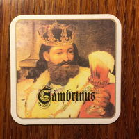 Подставка под пиво Gambrinus No 20